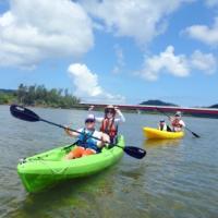 西表島のマングローブカヌー&バラス島でのシュノーケリング~♪