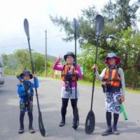 カヌー遊び~キャニオニング遊び~西表島にこにこツアーv(⌒o⌒)v♪♪イエーイ