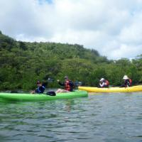 カヌー&バラス島 西表島の海山満喫にこにこツアー♪