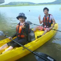 カヌー&キャニオニング&体験ダイビング~西表島を満喫です♪