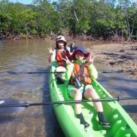 姉妹さんと一緒に~西表島にこにこカヌー&バラス島ツアー♪